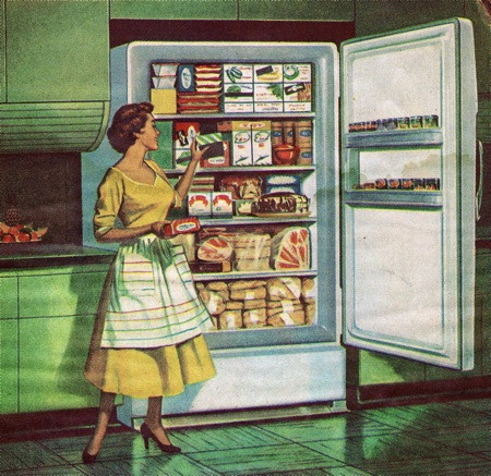 1950s graphic advertizing